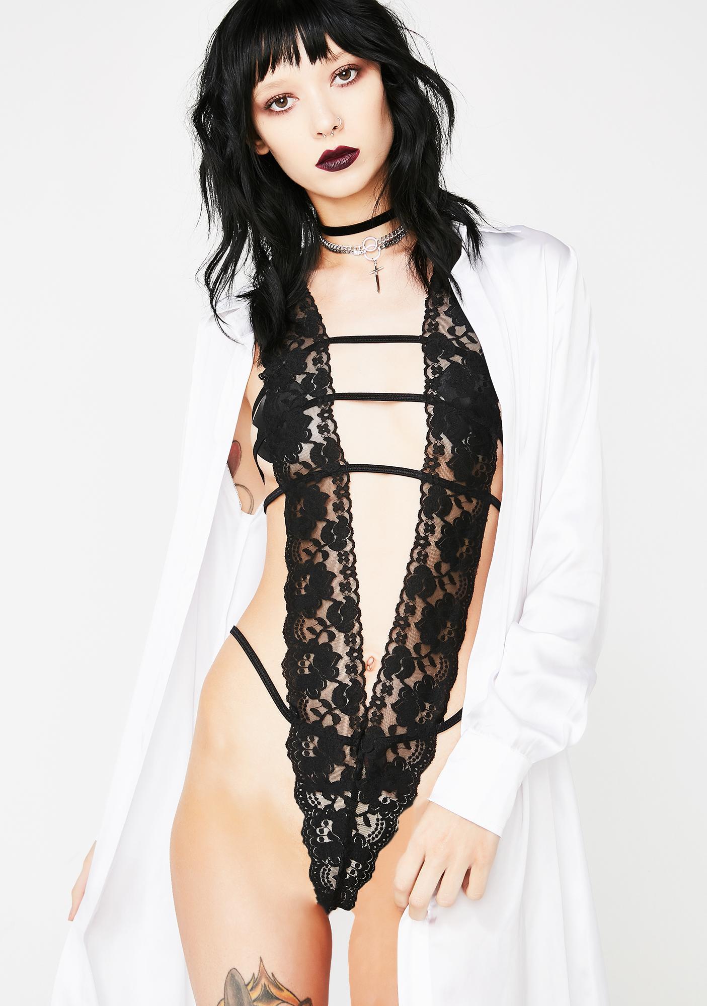 V Is For Vixen Lace Bodysuit
