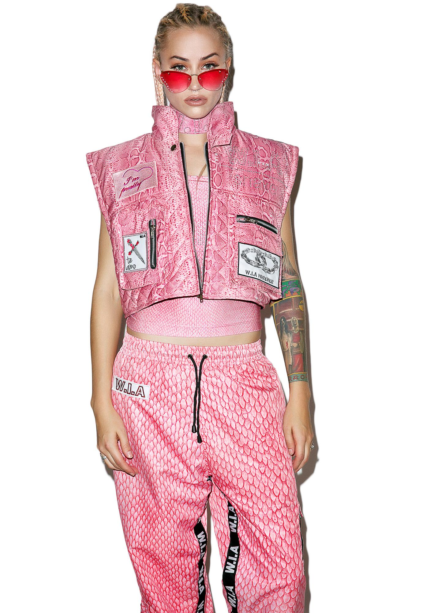 W.I.A Mamba Cropped Big Vest