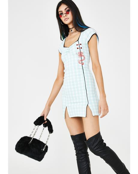 Sky Mido Dress