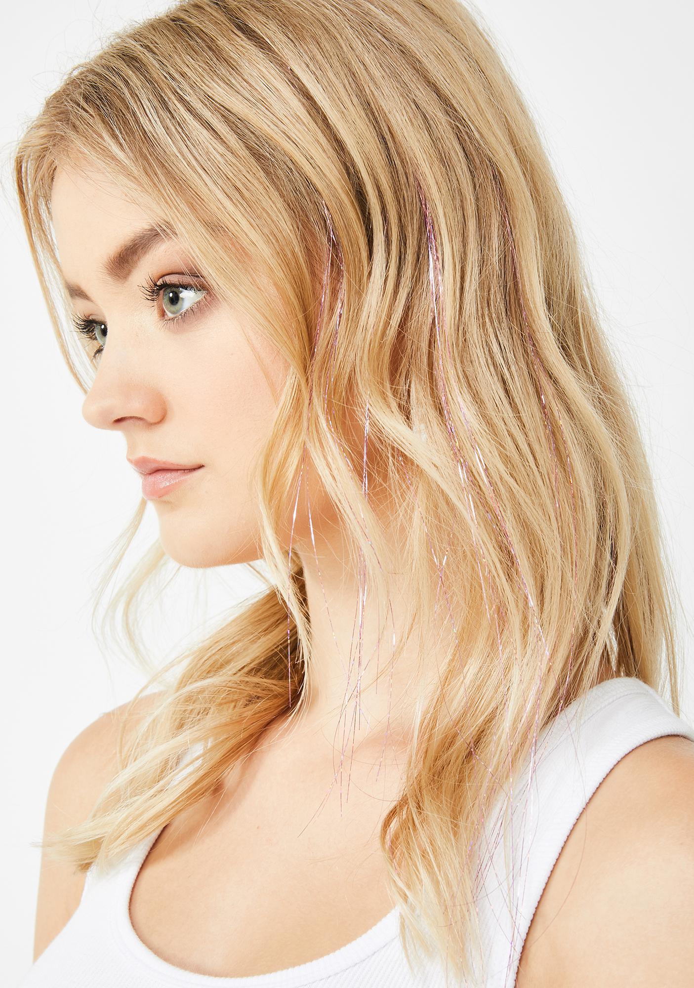 Venus Glitter Hair Strands by Goddess Glitter