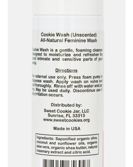 All Natural Unscented Cookie Feminine Wash