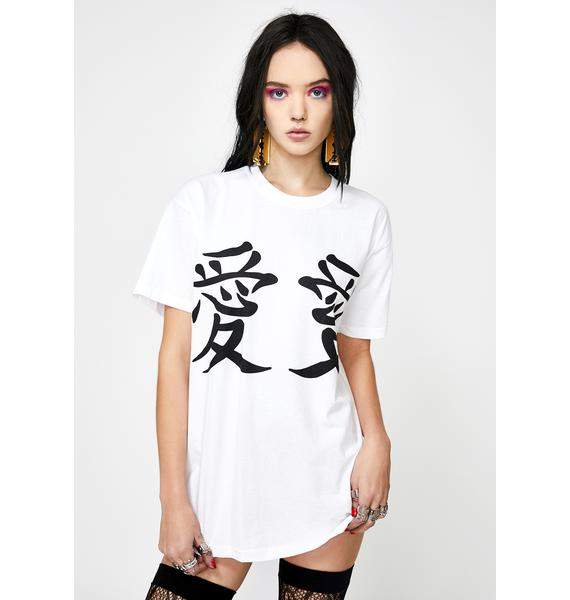 NEW GIRL ORDER Lucky Dragon Graphic Tee
