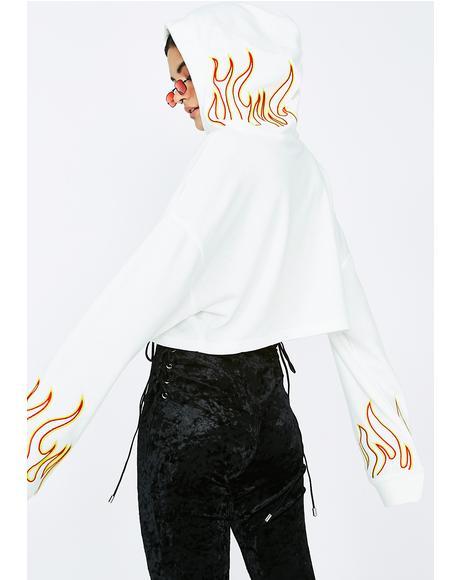 Let'z Blaze Flame Hoodie