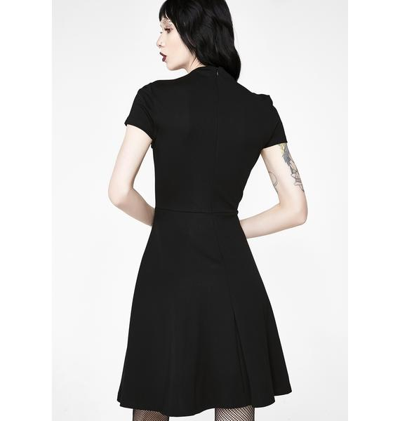 Killstar Meowgical Skater Dress