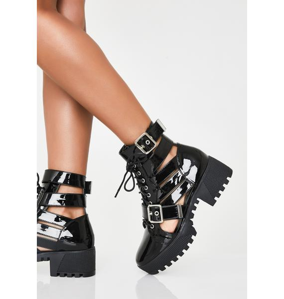 Beyond The Dust Cut-Out Boots