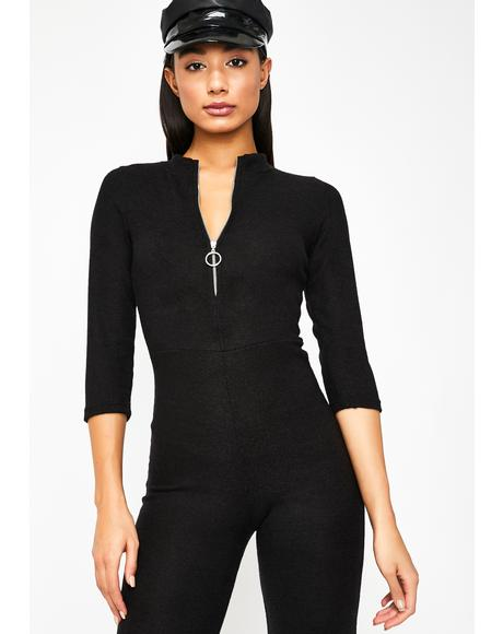 Brag About It Zip Jumpsuit