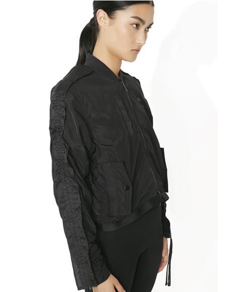 Xtreme Frill Bomber Jacket
