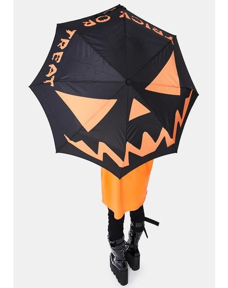 Trick Or Treat Umbrella
