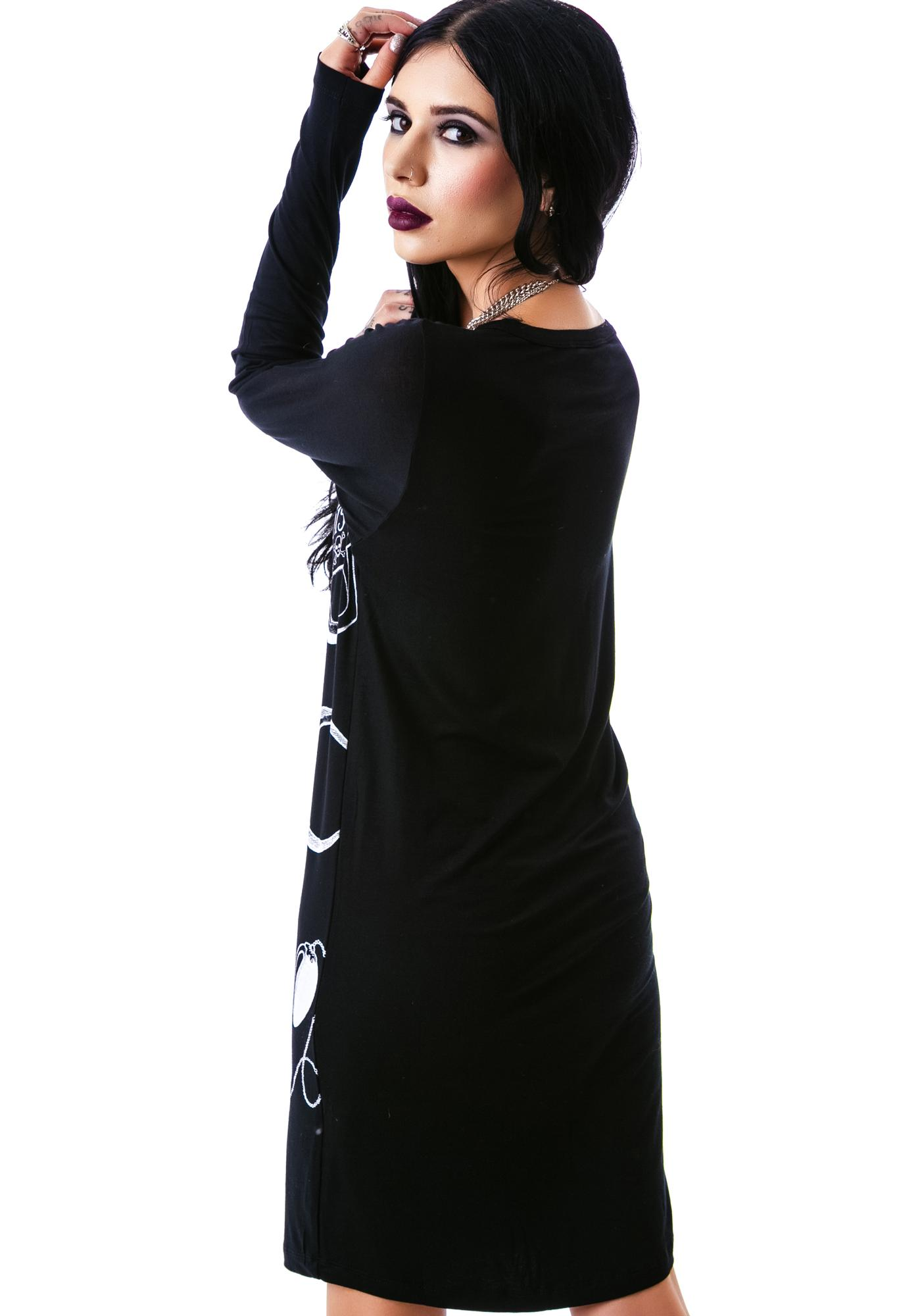 Killstar Wednesday Tunic Dress