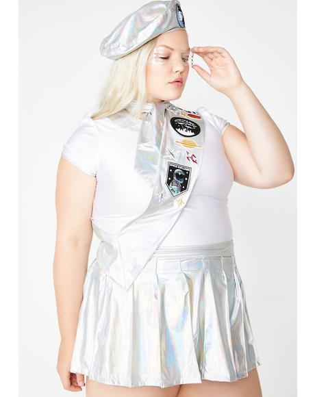 Cosmic Space Cadet Costume Set