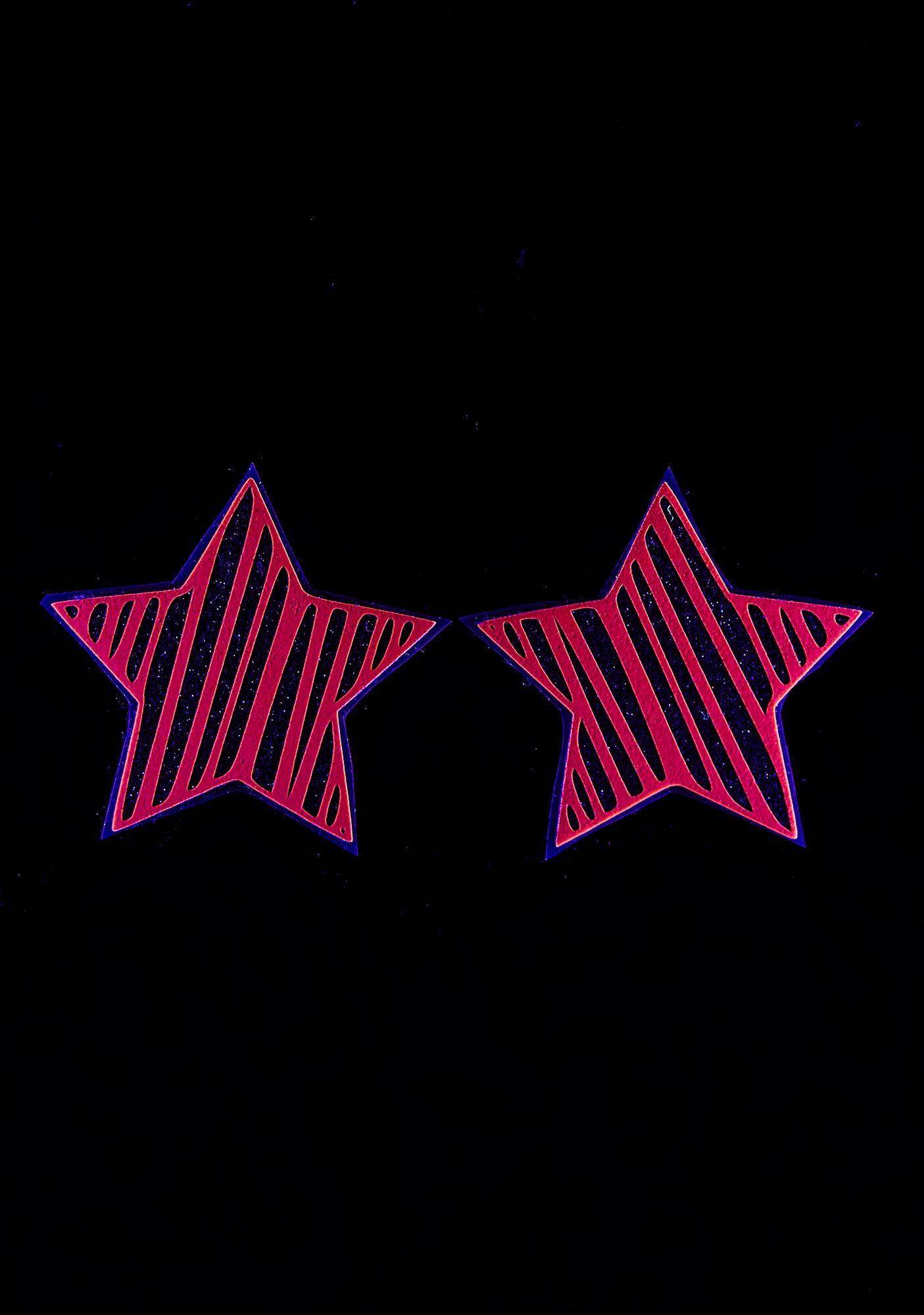 Sasswear Juiced Reflective Star Slash Pasties