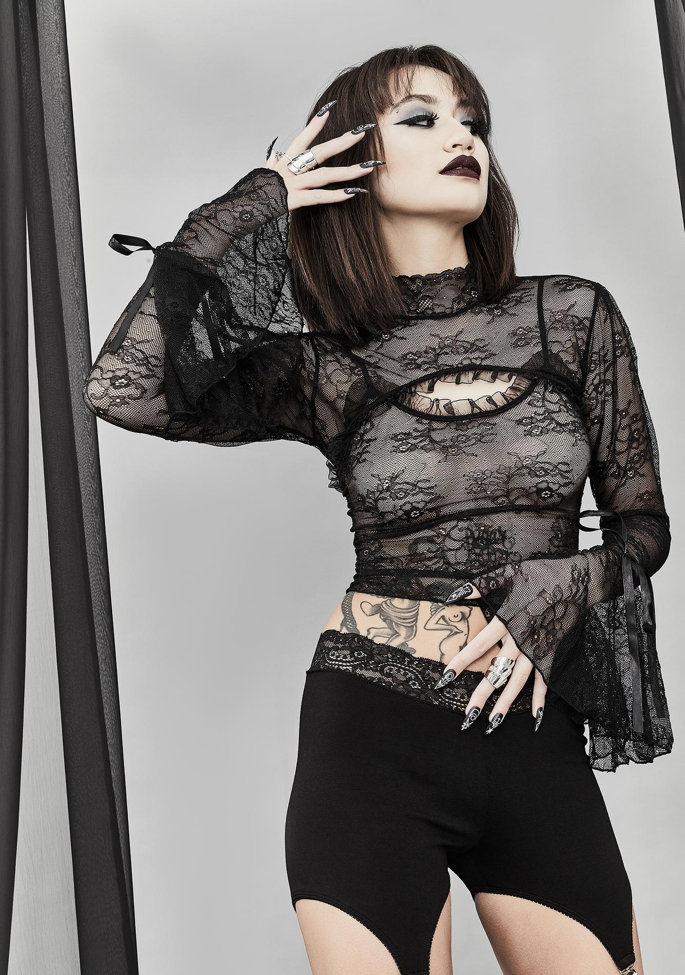 Widow Wraiths & Ruins Lace Set