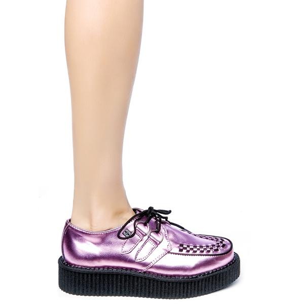 T.U.K. Metallic Low Creeper