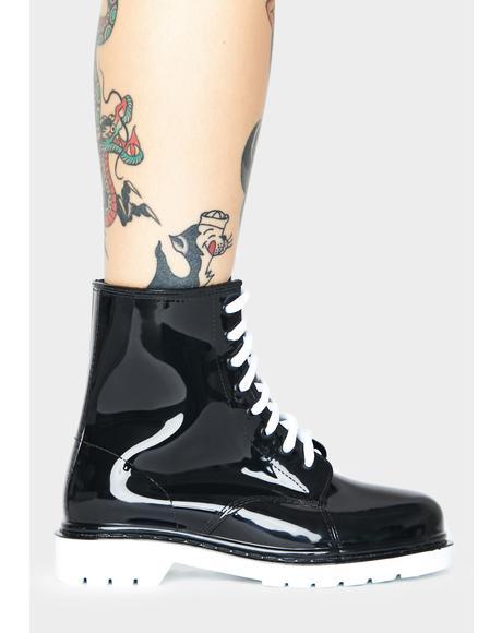 Polar Drip Drip Combat Boots
