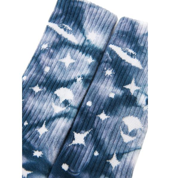 HUF Take Me To Your Dealer Crew Sock