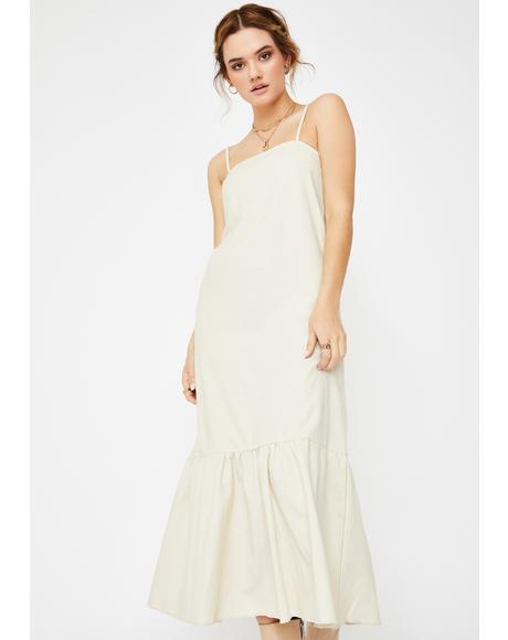 Lychee Maxi Dress