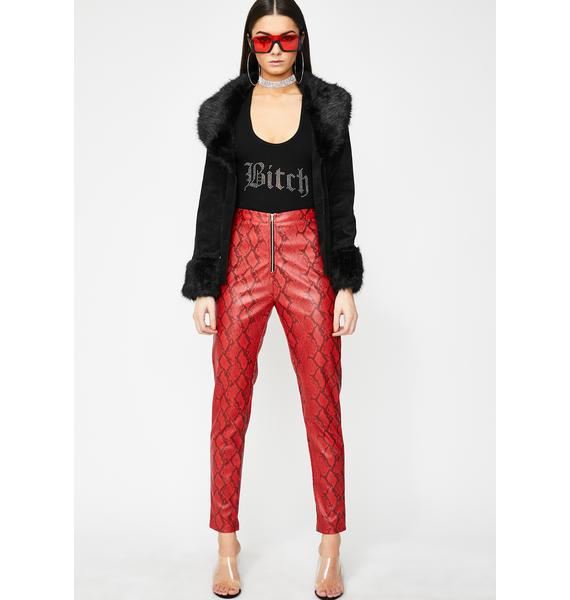 100% satisfaction catch official photos Rattlin' Savage Snakeskin Pants