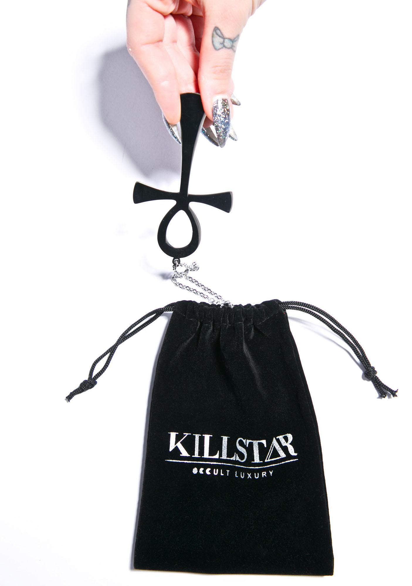 Killstar Ankh Necklace