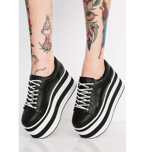 Rocket Dog x California Girls Acid Rock Platform Sneakers