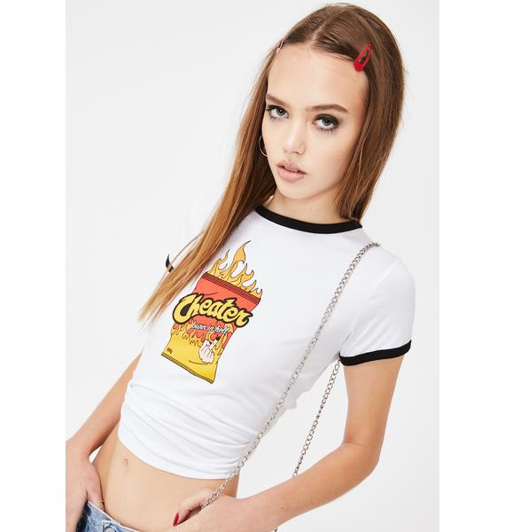 Eromatica Burn In Hell Graphic Tee
