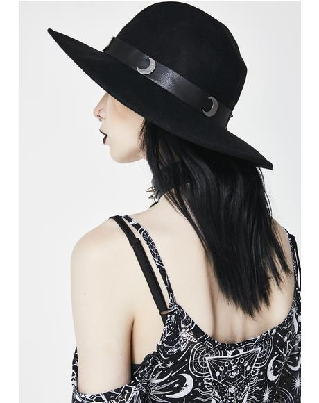 Eternal Eclipse Fedora Hat