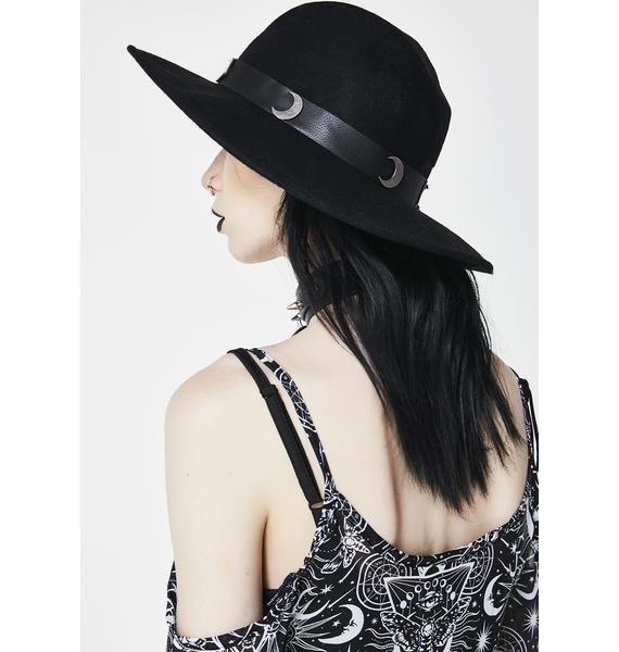 Killstar Eternal Eclipse Fedora Hat
