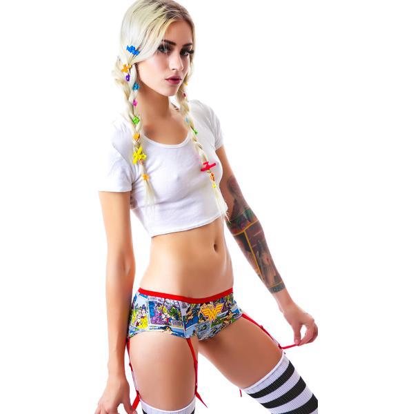 Undergirl Wonder Woman Comic Art Panty
