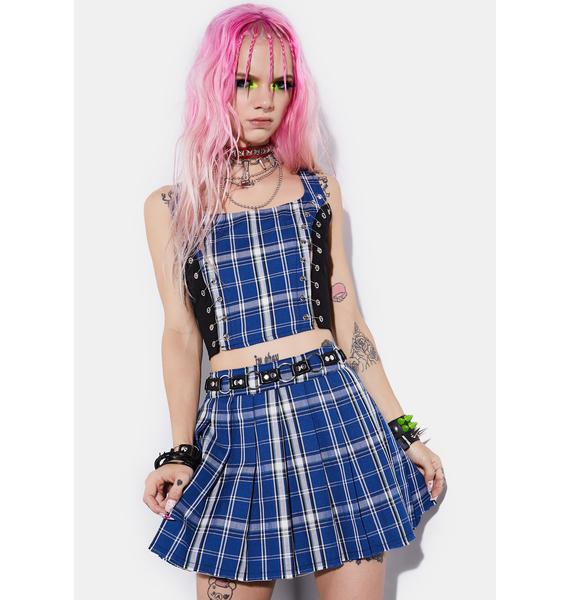 Current Mood Idol Generation Safety Pin Corset Top