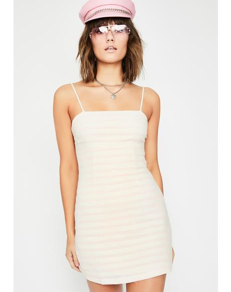 Heartbreakin' Honey Stripe Dress