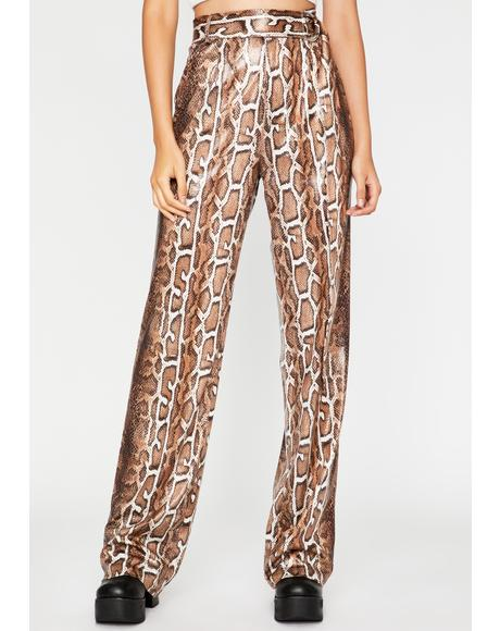 Wild Affair Snake Print Pants