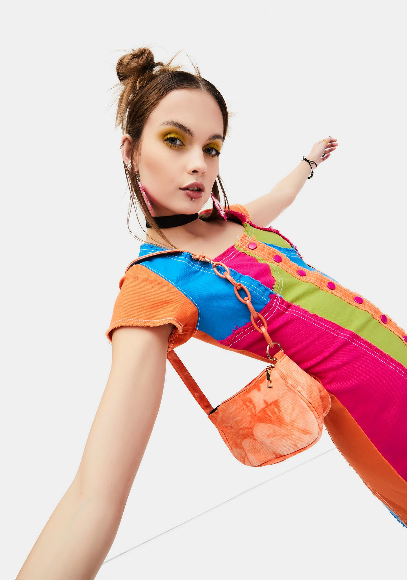 New Dawn Tie Dye Shoulder Bag