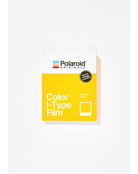 i-Type Color Polaroid Film