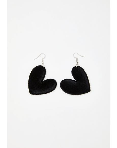 Busy BB Heart Earrings