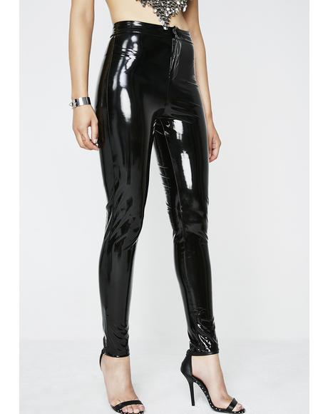 Lick It Better Vinyl Leggings