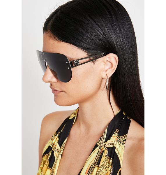 Realest Bish Aviator Sunglasses