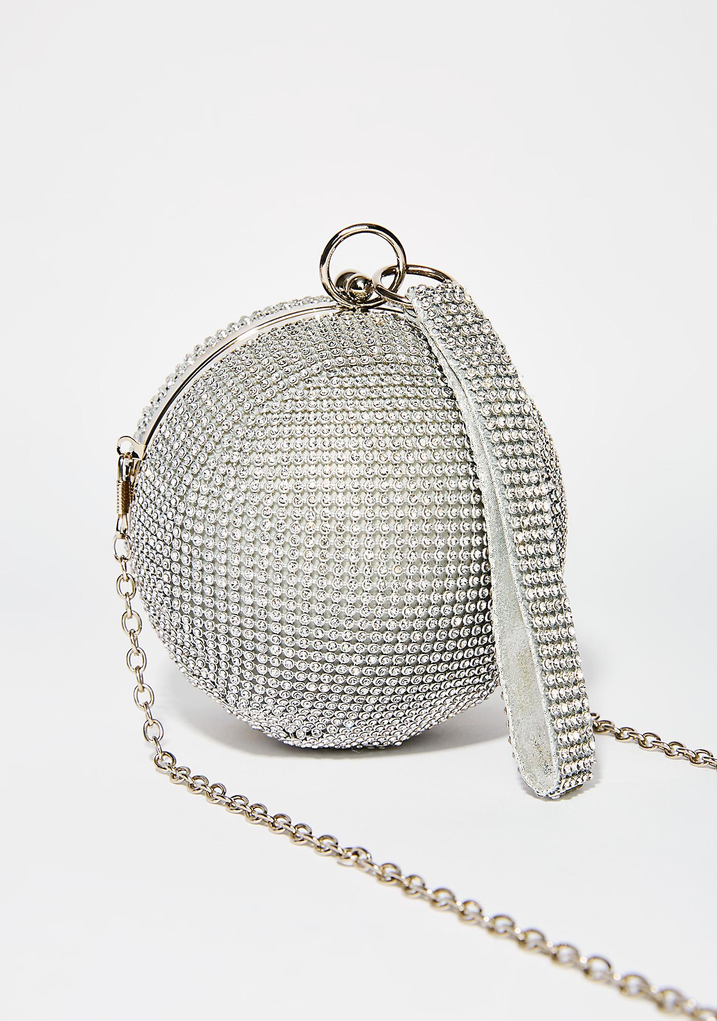 1a25a6321 Silver Disco Ball Purse | Dolls Kill