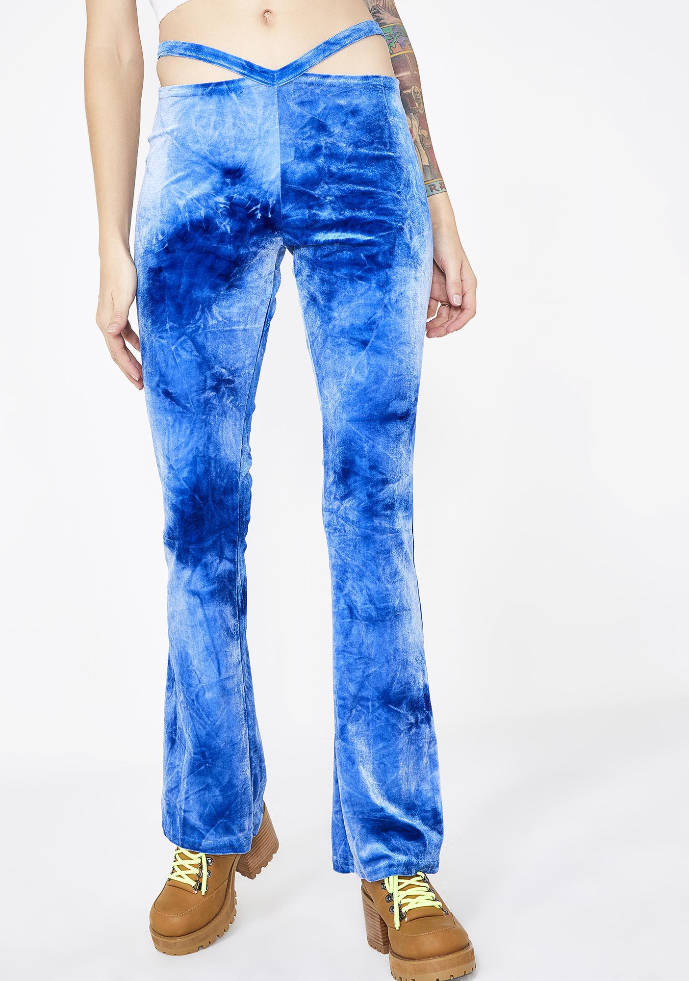 American Deadstock Blue Crush G String Pants