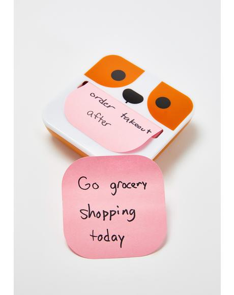 Dippy Dog Sticky Note Dispenser