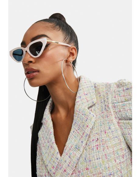 Zuma Pink Pearl Sunglasses