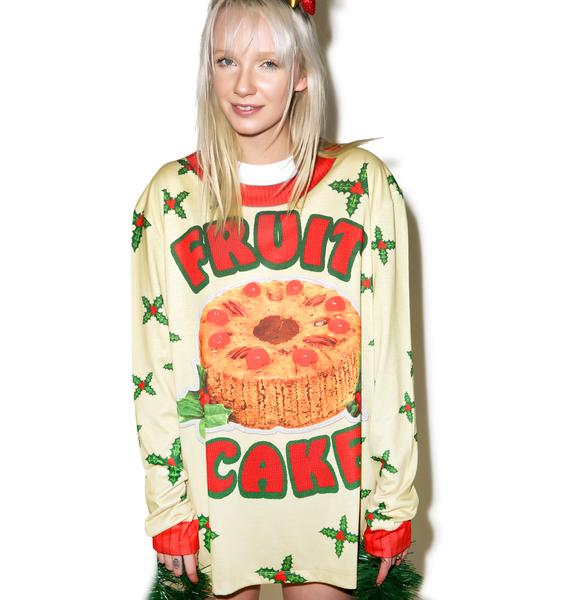 Fruit Cake Sweater Tee