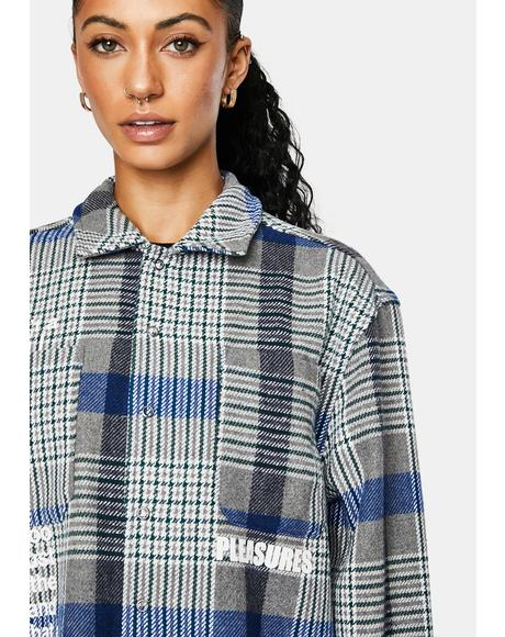 Forces Plaid Overshirt