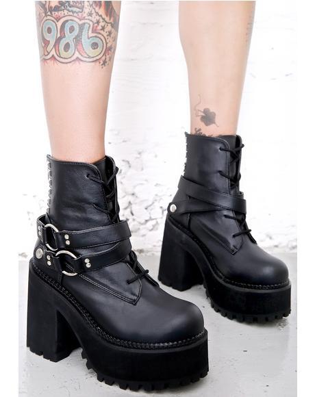 Reign Of Terror Platform Boots
