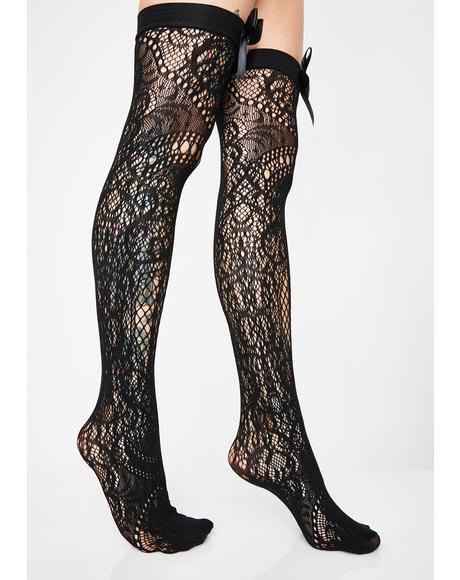 Lysithea Lace Socks