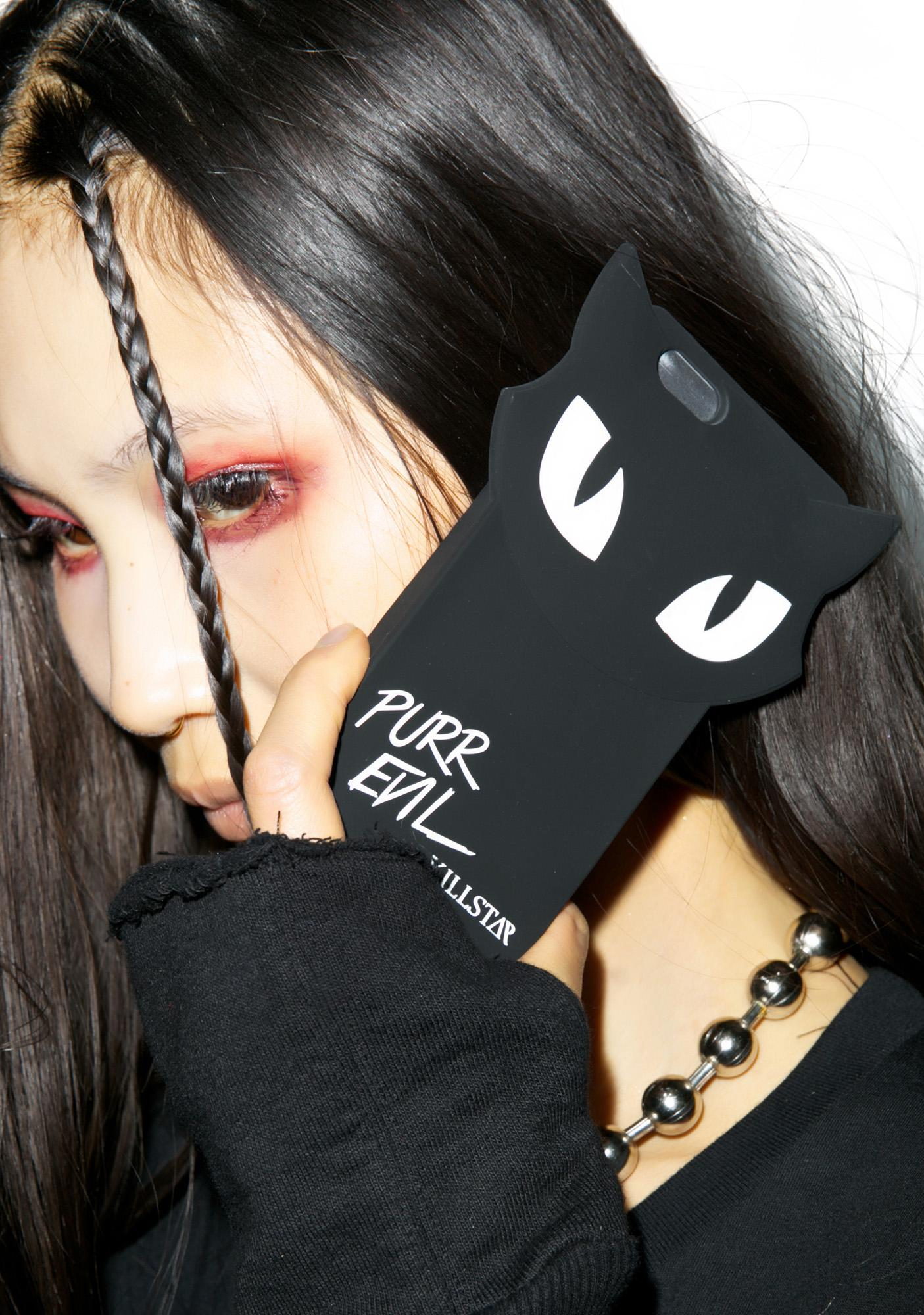 Killstar Purr Evil iPhone 6/6S Case