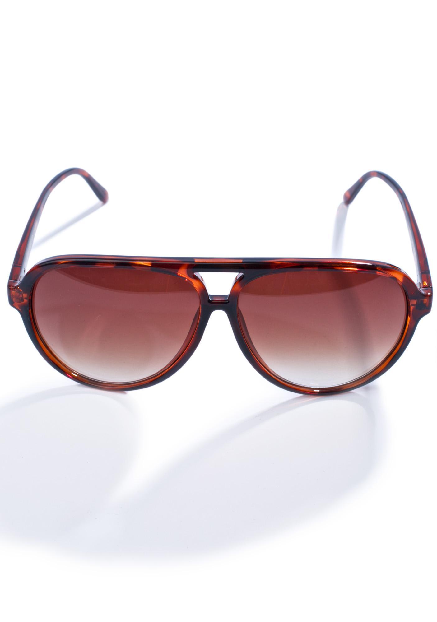 Crap Eyewear The Tortoise Nite Shift Sunglasses