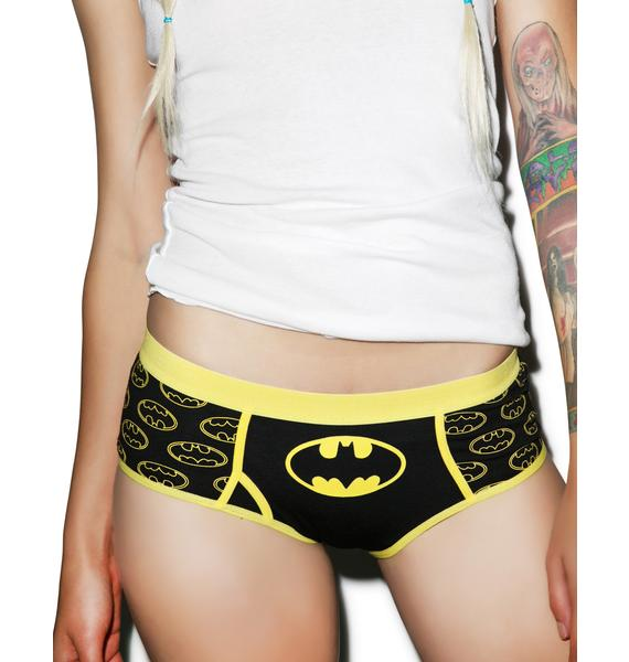 Undergirl Batman Glow In The Dark Logo Panties