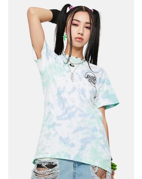 Opus Dot Tie Dye Graphic Tee
