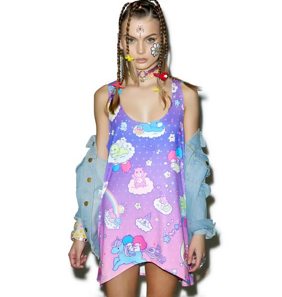 Japan L.A. Little Stars X Care Bears Tunic Tank