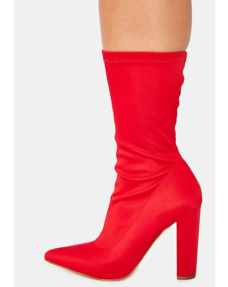 Hell Shade Patrol Heeled Booties