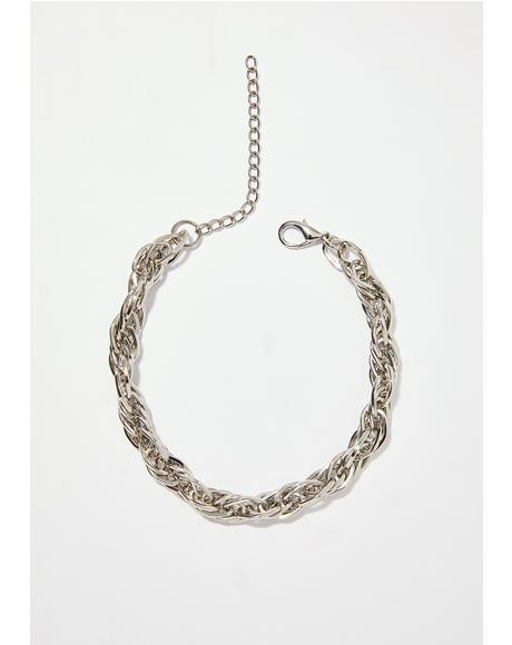 Let's Link Up Chain Choker